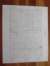 Fessenden West North Dakota 1949 Original Vintage USGS Topo Map