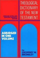 Theological Dictionary of the New Testament: Abridged in One Volume  Hardcover