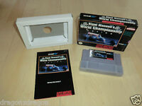 Nigel Mansell´s World Championship Racing (SNES) US-Version, in OVP & Anleitung