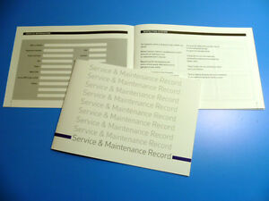 VW VOLKSWAGEN Service Book New Unstamped History Maintenance Record Free Postage