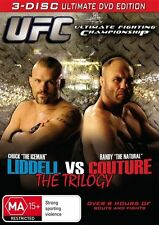 UFC Liddell vs Couture The Trilogy (DVD, 3-Disc Set) NEW/SEALED [Region 4] MMA