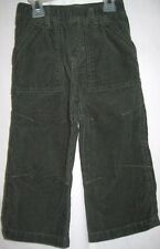 BOYS 24 MONTH GREEN CORD ADJUST POCKET FATIGUE PANTS NWT ~ THE CHILDREN'S PLACE