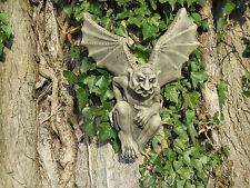 gargoyle wall plaque stone garden ornament
