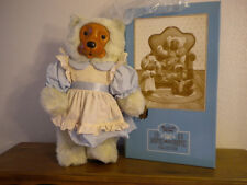 """BEAR by Robert Raikes """"EMILY"""" Home Sweet Home Collection, with Box, 22"""" 1988"""