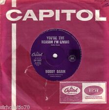 BOBBY DARIN You're The Reason I'm Living / Now You're Gone 45