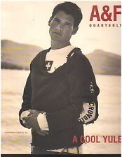 ISSUE 02 Abercrombie & Fitch 1997 Christmas Catalog A&F Bruce Weber Tom Welling