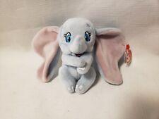 Ty Sparkle Disney Dumbo Beanie Baby Keychain - New