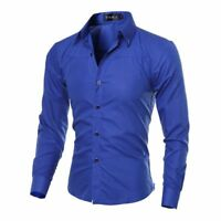 Men's Casual Shirt Full Sleeves Tuxedo Shirts Male Casual Wear Clothing Collared