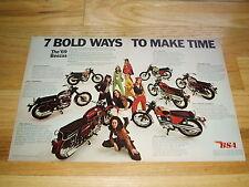 1969 BSA LIGHTNING-ROYAL STAR-FIREBIRD SCRAMBLER ORIGINAL AD-rim/gauges/gas/tank