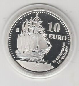 Spain Sailing Ship 2003 Proof Silver