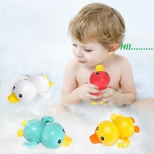 Summer Baby Bathing Shower Toys Water floating Funny Duck Kids Swimming Game Clo