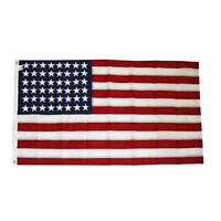 48 Star American US FLAG 4x6 ft 1912-1959 Sewn Applique Stars NYLON Made in USA