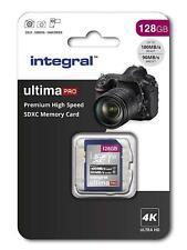 128GB SD Card 4K Ultra-HD Video Premium High Speed Memory Card SDXC Up To V30