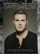 Gary Barlow Official 2013 Calender