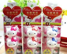 2pcs Hello Kitty Car Air Outlet Perfume Solid Balm Freshener Diffuser Fragrance