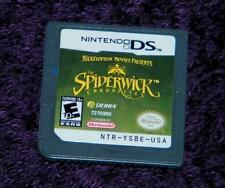 THE SPIDERWICK CHRONICLES game Nintendo DS cartridge only works free ship