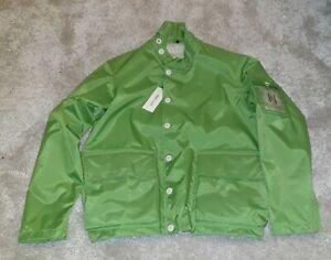 Nigel Cabourn x Henri Lloyd Apple Green Shimmer Short Style Jacket Large BNWT