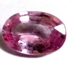 NATURAL WONDERFUL PINK SPINEL LOOSE GEMSTONE (6.6 x 4.5 mm) OVAL SHAPE