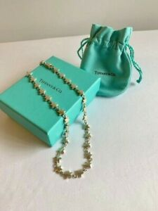 TIFFANY & CO Star Chain Necklace - RARE, retired, authentic, sterling silver