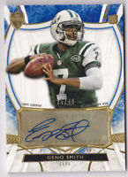 2013 Topps Supreme Rookie Autographs Blue #SRAGS Geno Smith Auto 25/40