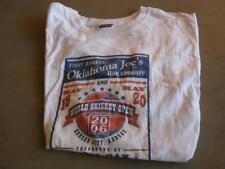 Oklahoma Joe's Barbeque Contest souvenir T shirt Large