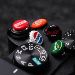 NEW Camera Soft Shutter Release Button for Leica Fuji Sony Soda Cap Shape