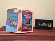Bedknobs and Broomsticks / L'a[[remtie sorciere VHS clamshell case & tape FRENCH