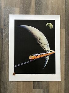 JOE WEBB - Around The World Limited Edition Print - Sold Out