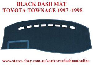 DASH MAT, DASHMAT,DASHBOARD COVER FIT  TOYOTA TOWNACE 1997-1998, BLACK