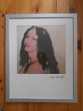 "Lithographie ,  Andy Warhol ,  "" Brooke Hayward "" , Tirage  2400 Exemplaires"