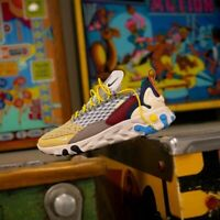 Nike React Sertu White Grey Black Blue Shoe Trainer Running Sneaker UK Size 7-11