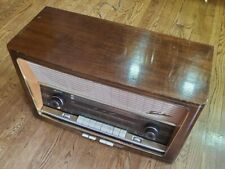 Vintage Saba Automatic 300 9T Radio Villingen 📻  German Tube