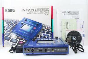 Korg KPE1 Kaoss Pad Entrancer Vj Video Mischpult Mit Box Anleitung DVD A863640