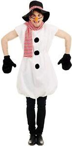 Fun Shack Men's X-Large Snowman Costume