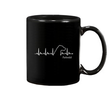 Patterdale Terrier 11 oz 15 oz Black Coffee Mug - Us Supplier
