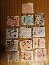 Vintage Lot Of 13 New South Wales Stamps , Used