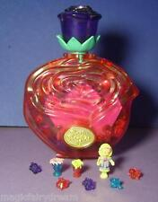 Polly Pocket Mini ♥ Sweet Roses ♥ Kristall Rose ♥ 100% Komplett ♥ 1996 ♥ selten