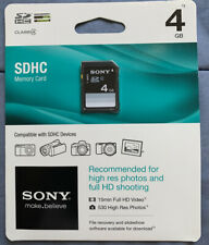 Sony 4GB SD Card Memory Card