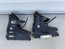 Roces Black Inline Skates US Size 8/9 1/2