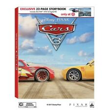 Cars 3 (Blu-ray + DVD + Digital + EXCLUSIVE 32 PAGE STORYBOOK) NEW + FREE SHIPPI