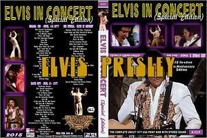 3DVD  Elvis Presley coffret Ultimate/3concert 1977