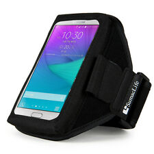 SumacLife Nylon Sports GYM Running Armband Case Holder for Samsung Galaxy S9 S8
