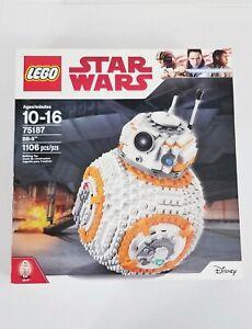 LEGO Star Wars BB-8 - (75187) New & Sealed - (2017-Retired)