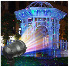 Almatess Garden Laser Lights Wireless Remote Indoor Outdoor Party Decor