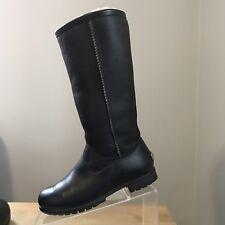 UGG Australia Uggs Women's US 5 EU 36 Brooks II Black Leather Sheepskin, Boots