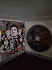 Sleeping Dogs Sony PlayStation 3 PS3 original case S9