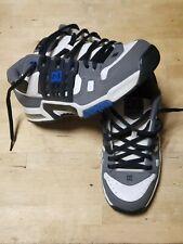 DC Shoes Co. AEROTECH AT-2 Mens SIZE 12 White GREY Black ROYAL BLUE Vintage EUC
