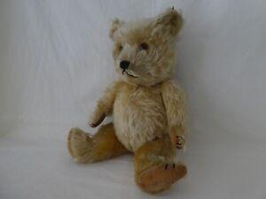 Vintage Chiltern Mohair Teddy Bear
