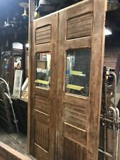 Vintage double door set each door 25� x 90� x 1.75�