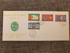 Ersttagsbrief Seychelles  1974  - UPU Centenary 1874 - 1974 gestempelt